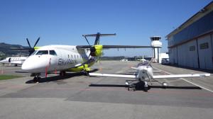 Ich lerne mit dem kleinen Flugzeug rechts ;-).