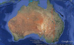 Route von Melbourne nach Mareeba